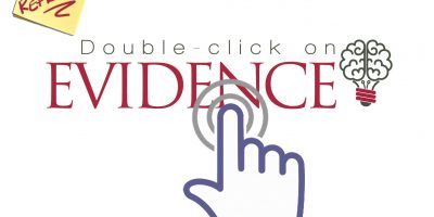 Doubclick on EVIDENCE Logo