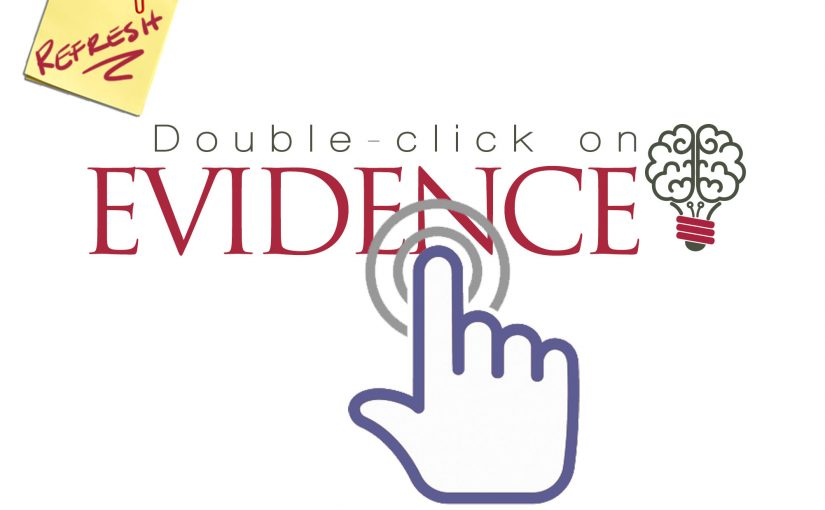 Double-click on Evidence