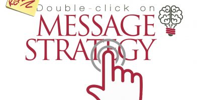 Doubclick on Message Strategy Logo