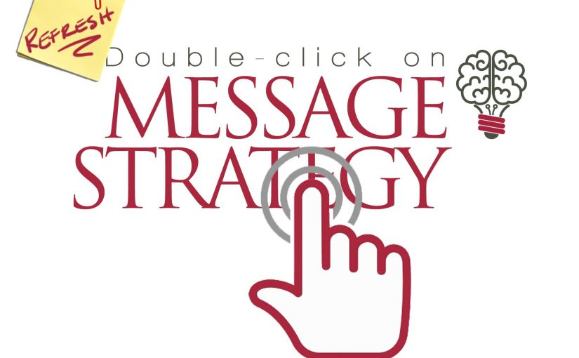 Double-click on Message Strategy