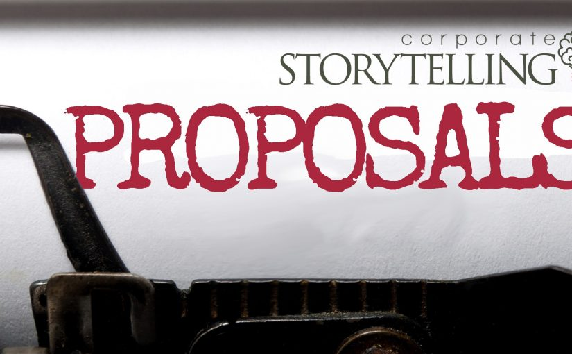 Can Corporate Storytelling be used for a Proposal?