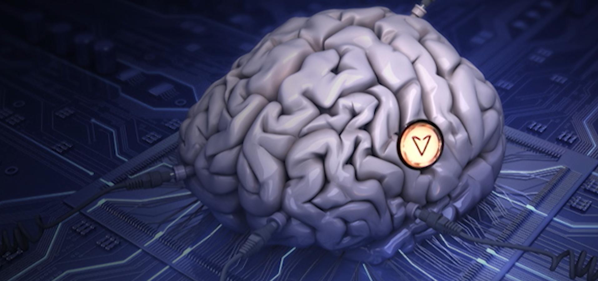 Elevator Brain Button